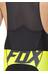 Fox Ascent Pro - Cuissard court - jaune/noir